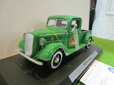 FORD DELIVERY PICK UP de 1937 COCA COLA vert au 1/24 MOTOR CITY 424001 voiture