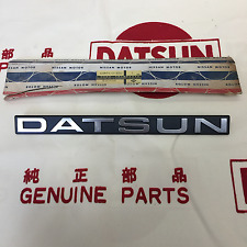 DATSUN TRUCK 720 Pick-UP Front Fender Emblem Badge Genuine (For NIssan 720 Ute)