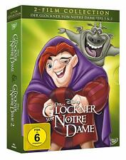 Der Glöckner von Notre Dame - Teil: 1 + 2 [2 DVDs/NEU/OVP] Walt Disney Klassiker