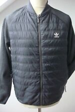 BNWT ADIDAS ORIGINALS SUPERSTAR QUILTED TRACK TOP JACKET GREY LARGE MEN COAT