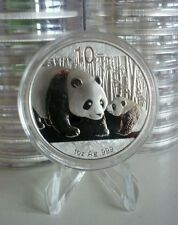2011 CHINA PANDA 10 Yuan 1oz SILVER COIN BU UNC