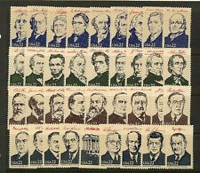 Ameripex Presidents SINGLES Scott's 2216-19