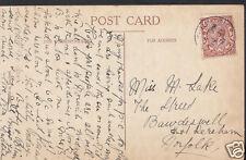 Genealogy Postcard - Family History - Lake - Bawdeswell - Norfolk   BH4601