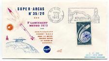 1973 Super-Arcas 35/20 5° Lancement Meteo Kourou Guyane Francaise Ville NASA
