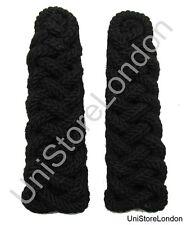Black Shoulder Cord Chain Gimp Green Jackets Uniform Cord Shoulder Board R1503