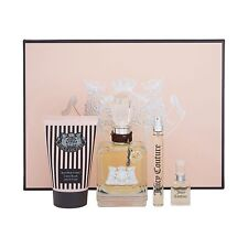 Juicy Couture EDP 4 Piece Gift Set For Women New in Box