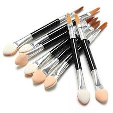 10Pcs Soft Sponge Eyeshadow Brush Double-ended Eyeliner Lip Applicator