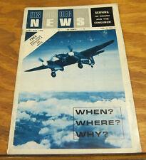 April, May 1966 Magazine // HISAIRDEC NEWS, VOL. 5, NO. 5 // Airplane Modelling