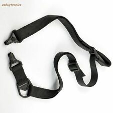 Rifle Sling (Black) 1 or 2 Point Tactical Rifle Quick Release for MS3 Gun Strap