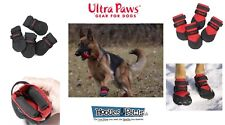 DOG BOOTS Ultra Paws DURABLE All Weather Repellent Snow Ice Mud Floor Set of 4