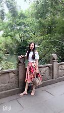 Dolce and Gabbana Printed cotton- Poplin Skirt Size38