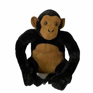 "Melissa & Doug Large Chimpanzee Monkey 24"" Plush Realistic - CLEAN"