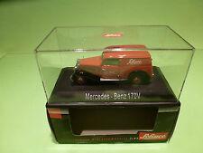 SCHUCO 02257 MERCEDES 170V TRUCK - KOSTENWAGEN SCHUCO  - 1:43 - MINT IN BOX