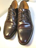 Bostonian Leather Dress Shoes Mens Brown Lace Up Size 9M