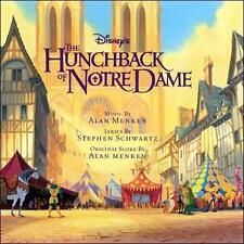 The Hunchback of Notre Dame [Original Soundtrack] by Alan Menken (CD, Jul-2006,
