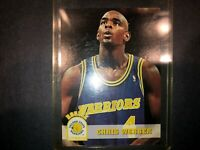 1993-94 NBA HOOPS CHRIS WEBBER #341 RC GOLDEN STATE WARRIORS BASKETBALL CARD FS