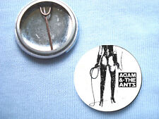 Adam and The Ants 25mm Badge Adam Ant Bow Wow Wow Sex Pistols Punk