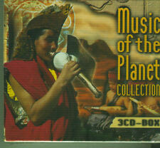 Music of the Planet  - 3CD-Box-Sammlung