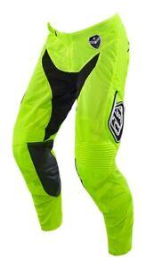 Troy Lee Designs Youth Pants GP Air Star Flo/Blk TLD Motocross Mx Enduro Quad