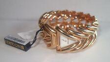 Roberto Cavalli rose gold plated Spike Ladies watch