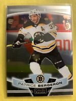2019-20 OPC Platinum Base #111 Patrice Bergeron Boston Bruins