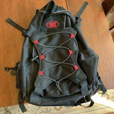 Black & Red Swix Nylon Backpack Rucksack, Great Shape!