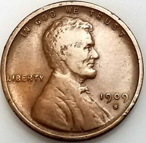 1909 S VDB Lincoln Cent! The KEY coin of the series! 484,000 minted! NO RESERVE!