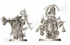 40K 1x Plaguecaster + 1x Blightbringer - Death Guard Chaos Space Marines Nurgle