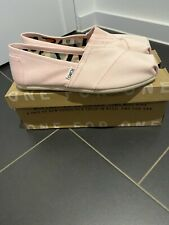 toms womens Size Uk 6.5 In Pink Brand New