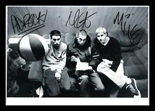 BEASTIE BOYS AUTOGRAPHED SIGNED & FRAMED PP POSTER PHOTO