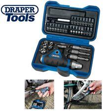Draper Ratchet Screwdriver Socket & Bit Set 35 Piece In Carry Case PZ TORX Star