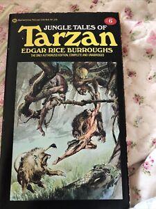 Jungle Tales of Tarzan, #6, Edgar Rice Burroughs, Ballantine, 1975