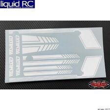 RC 4WD Z-B0180 Rc4wd Clean Stripes D90 Decal Sheet (White)