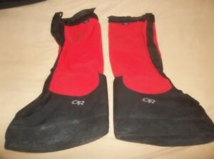 Outdoor Research Brooks Ranger Overboots Schoeller Fabric Gaiters Himalayan OR