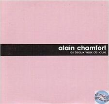 ALAIN CHAMFORT LES BEAUX YEUX DE LAURE CD PROMO
