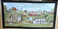"1 Wonderful NEW ""Amish Farmland"" Cotton Quilting Home Decor Sewing Fabric Panel"