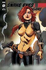 GI JOE SNAKE EYES; DEADGAME #1 Liefeld 1/25 Variant Cover IDW Comics (2020)