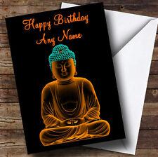 Beau bouddha Personnalisé Anniversaire Carte de vœux