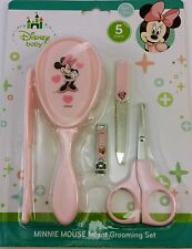 Baby Disney Minnie Mouse Pink 5 Piece Grooming Kit Baby Shower New Baby Gift