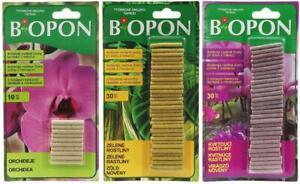 Fertilizing Sticks BIOPON Orchid Geranium Plant Fertilizer