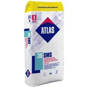 Ausgleichmasse - Fließspachtel - Nivelliermasse Selbstverlaufend  ATLAS SMS 30 ©