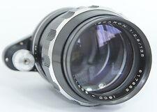 ISCO-GOTTINGEN TELE-ISCARON 135/2.8 135mm f2.8 2,8 LENS EXAKTA GERMANY
