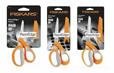 FISKARS Premium Fabric RazorEdge Dressmaking Scissors Soft - Choice of 3 Sizes