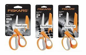 FISKARS Premium Fabric RazorEdge Dressmaking Scissors Soft - Choice of 3 Sizes