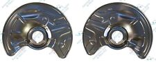 For Mercedes E-Class W211 CLS SL Front 2x Brake Disc Dust Cover Plate Shield