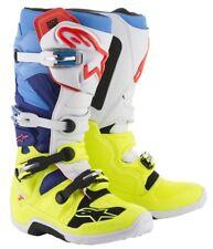 Alpinestars Stivali Fuoristrada Tech 5 Boot Black White Yellow Fluo 9