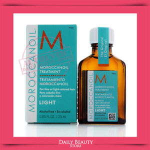 Moroccanoil Treatment Light 0.85oz 25ml NEW FAST SHIP