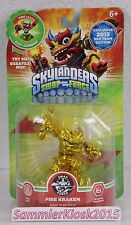 ORO Fire Kraken-Skylanders Swap Force Personaggio Exclusive Dev Team Edition 2013