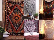 5 pcs lot Mandala Tapestry Indian Wall Hanging Decor Bohemian Hippie Twin Throw