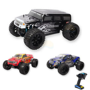 HSP 1/10 Brontosaurus Brushed Brushless Pro Monster Truck 2.4Ghz RC off Road 4WD
